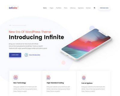 Infinite – Multi Purpose WordPress Theme – Just another